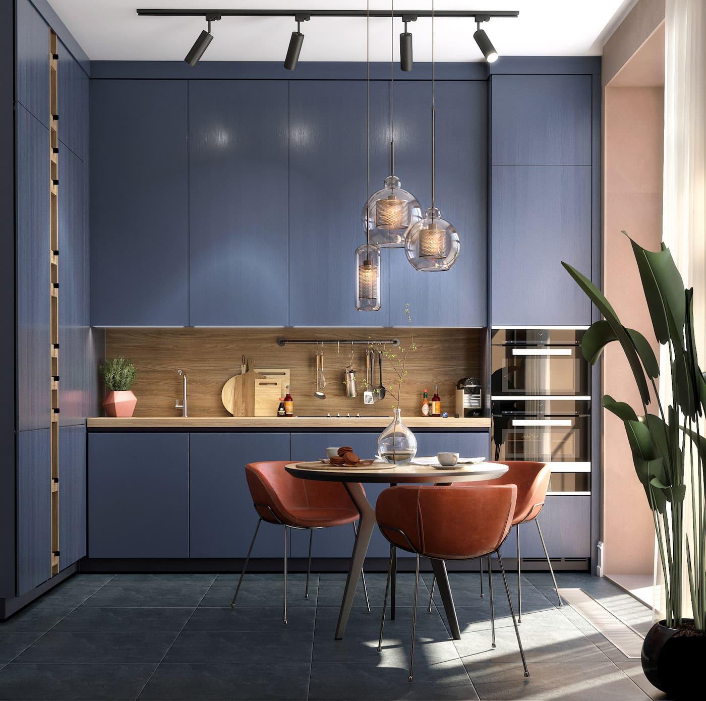 дизайн однокомнатной квартиры фото 12