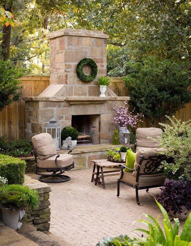 дизайн двора частного дома фото 10