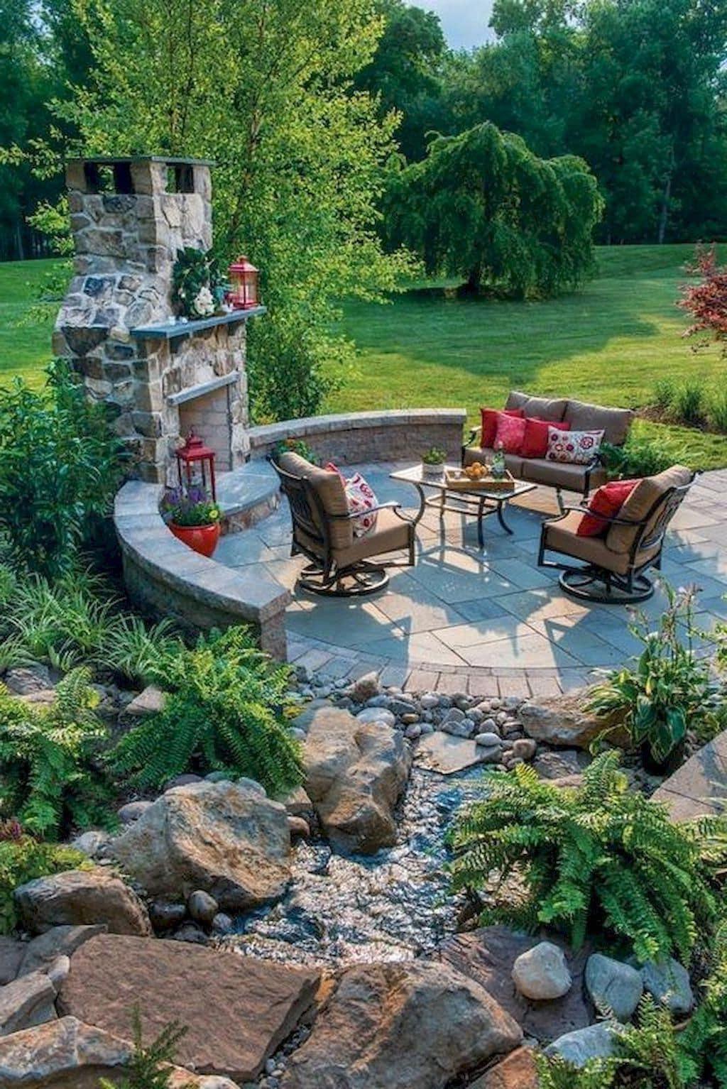 дизайн двора частного дома фото 14