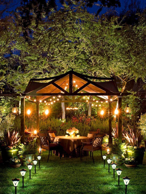 дизайн двора частного дома фото 23