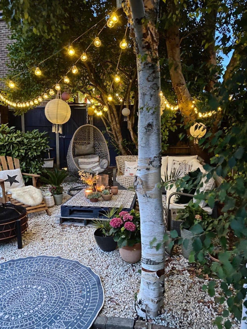дизайн двора частного дома фото 24