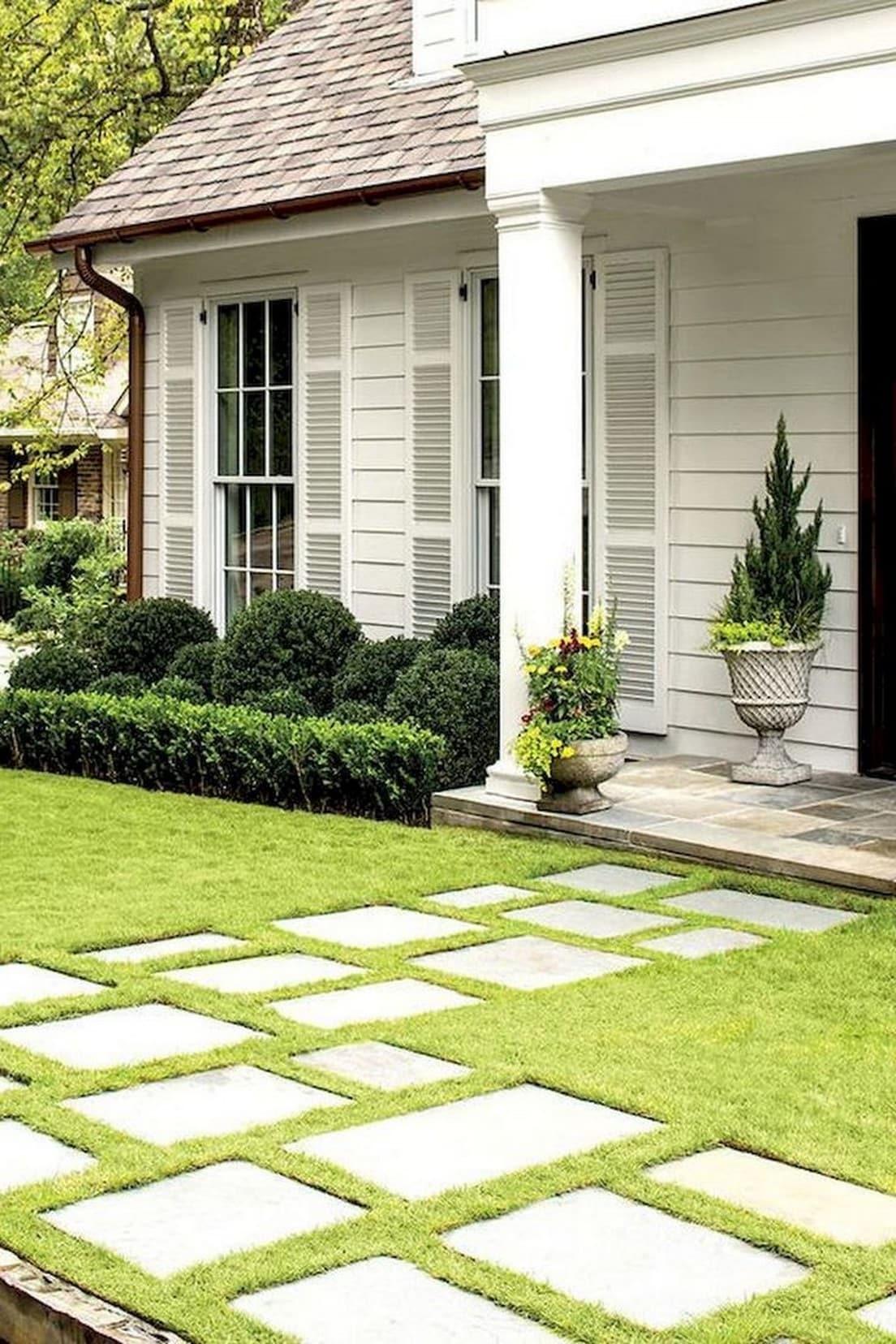 дизайн двора частного дома фото 39