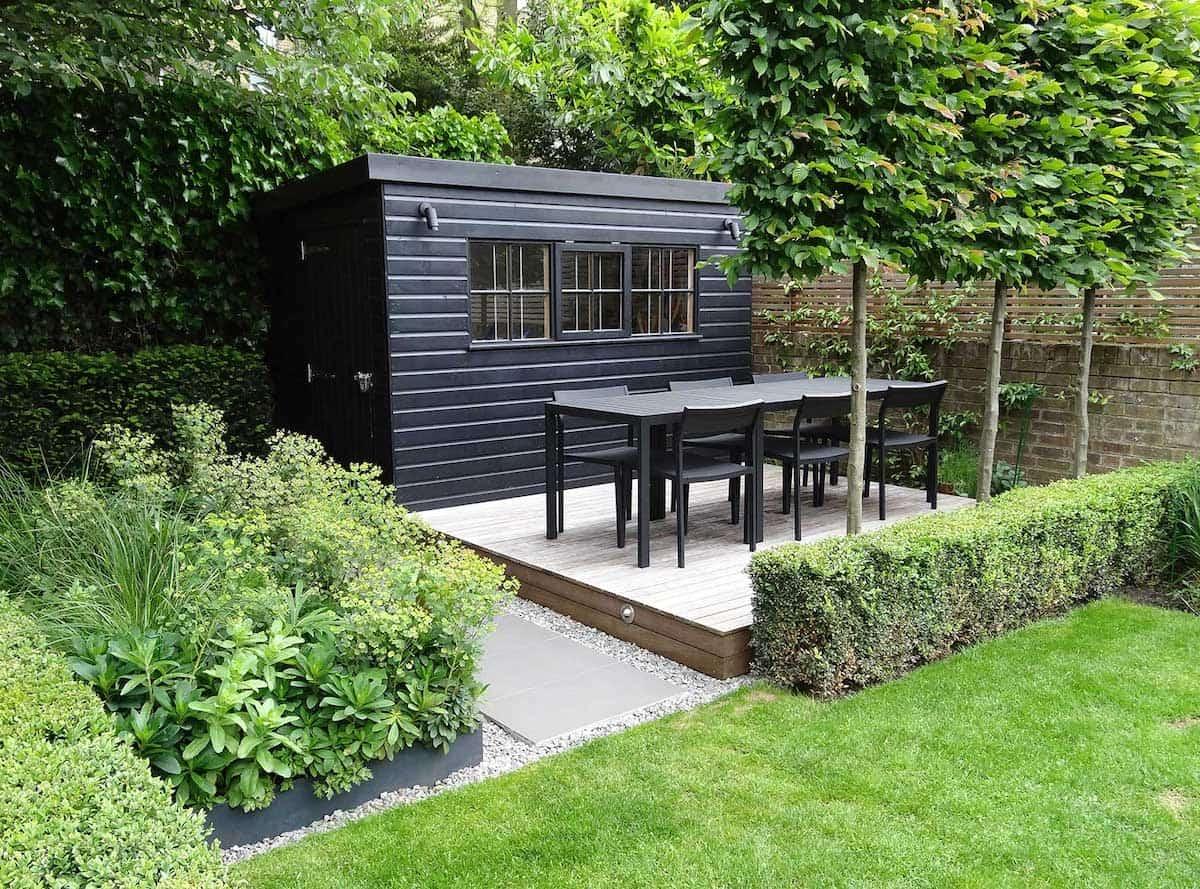 дизайн двора частного дома фото 41