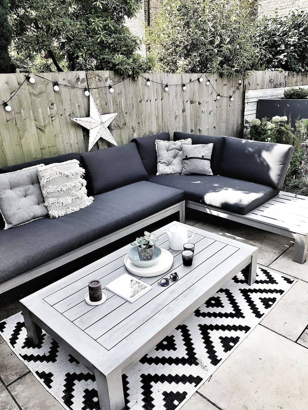дизайн двора частного дома фото 49