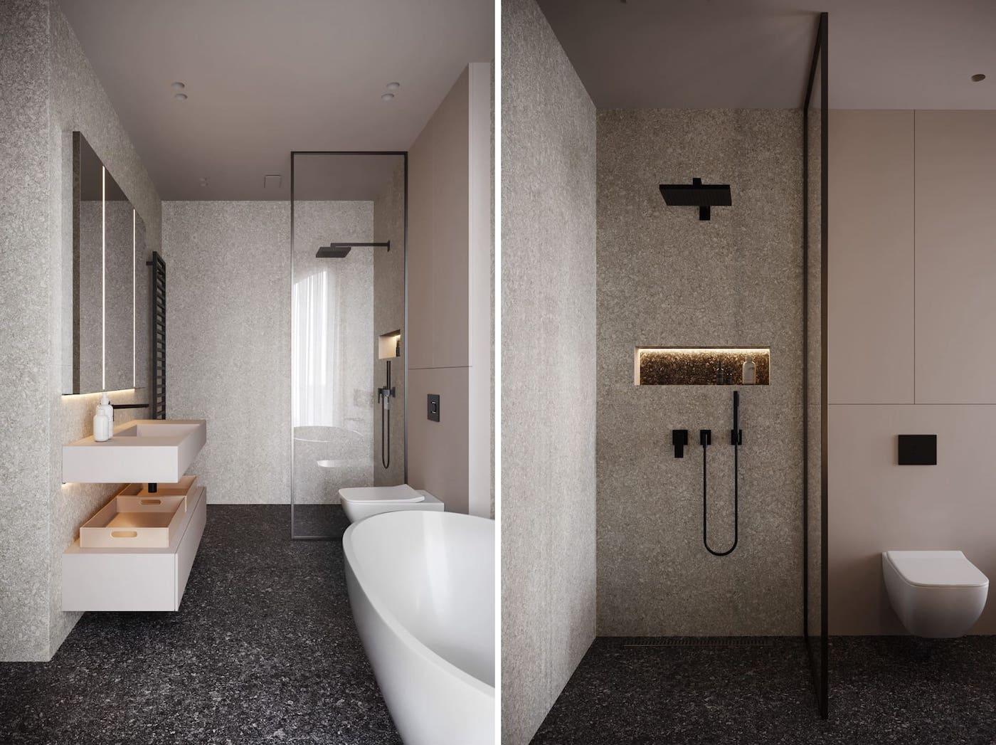 дизайн интерьера модной квартиры фото 10