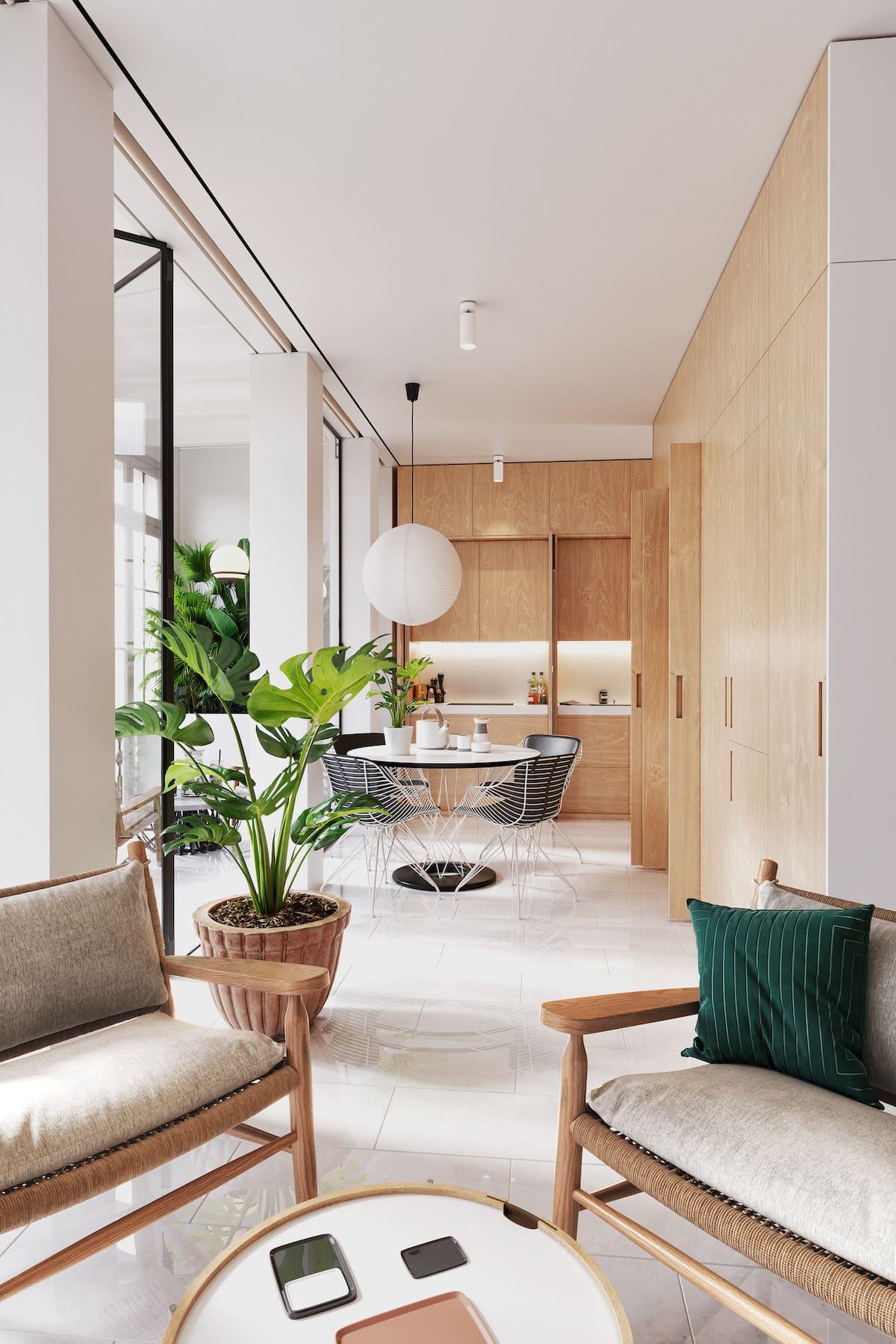 дизайн интерьера модной квартиры фото 11