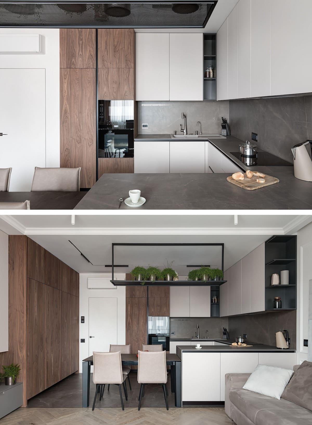 дизайн интерьера модной квартиры фото 54