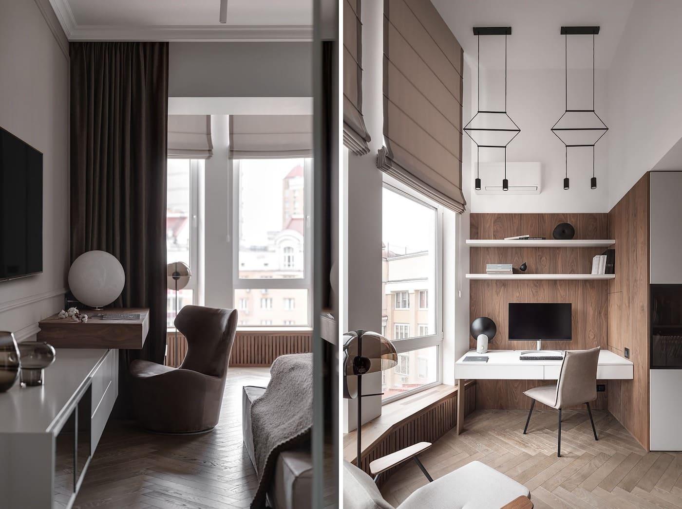 дизайн интерьера модной квартиры фото 56