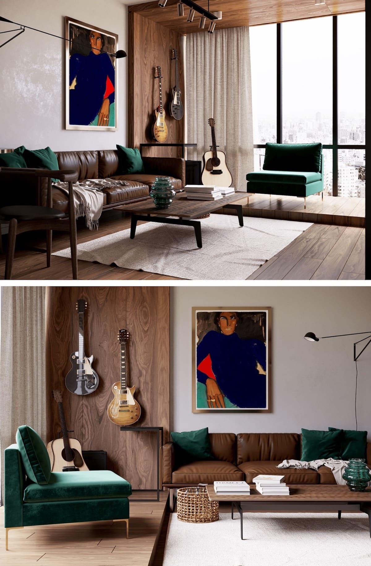 дизайн интерьера модной квартиры фото 63