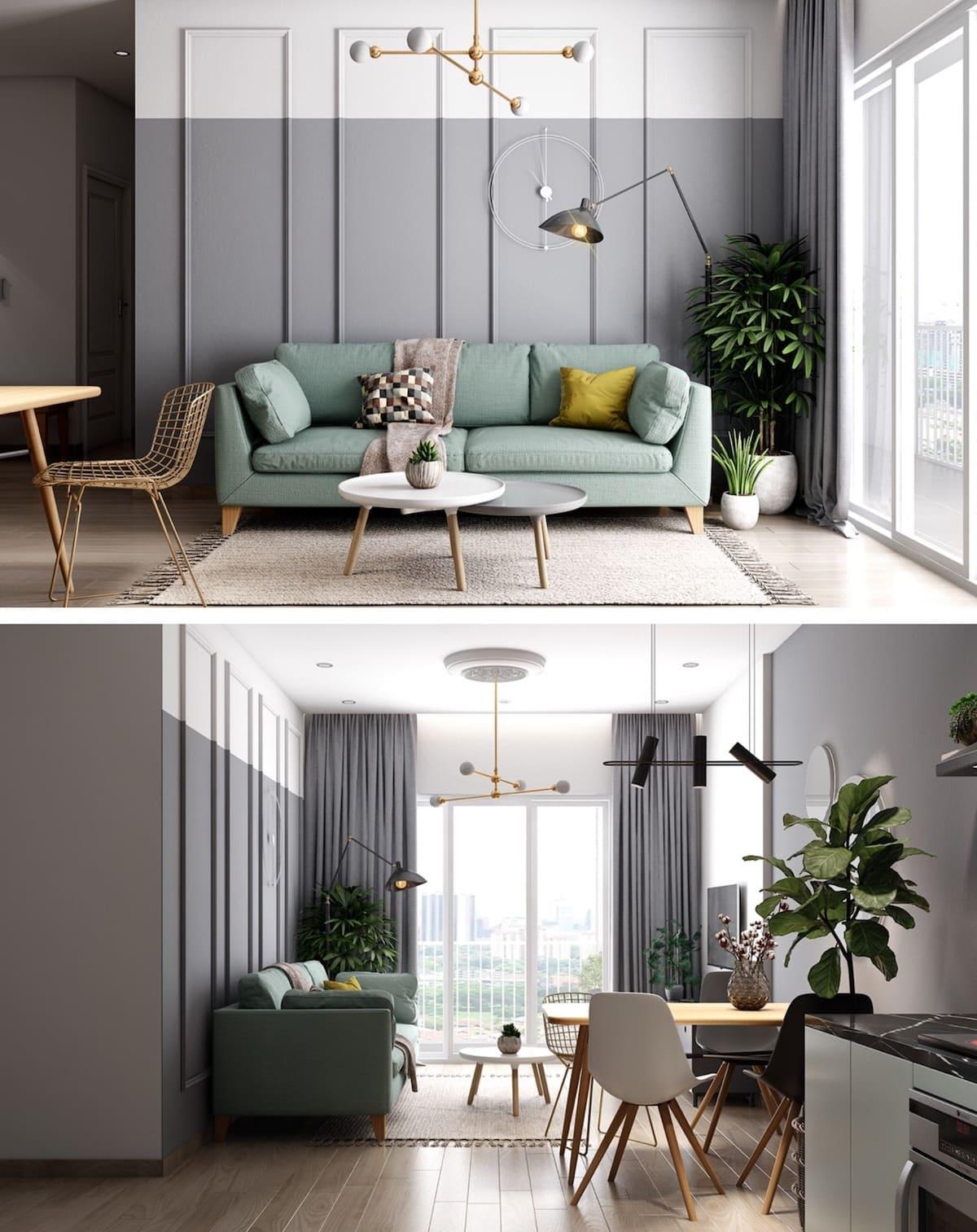 дизайн интерьера модной квартиры фото 74