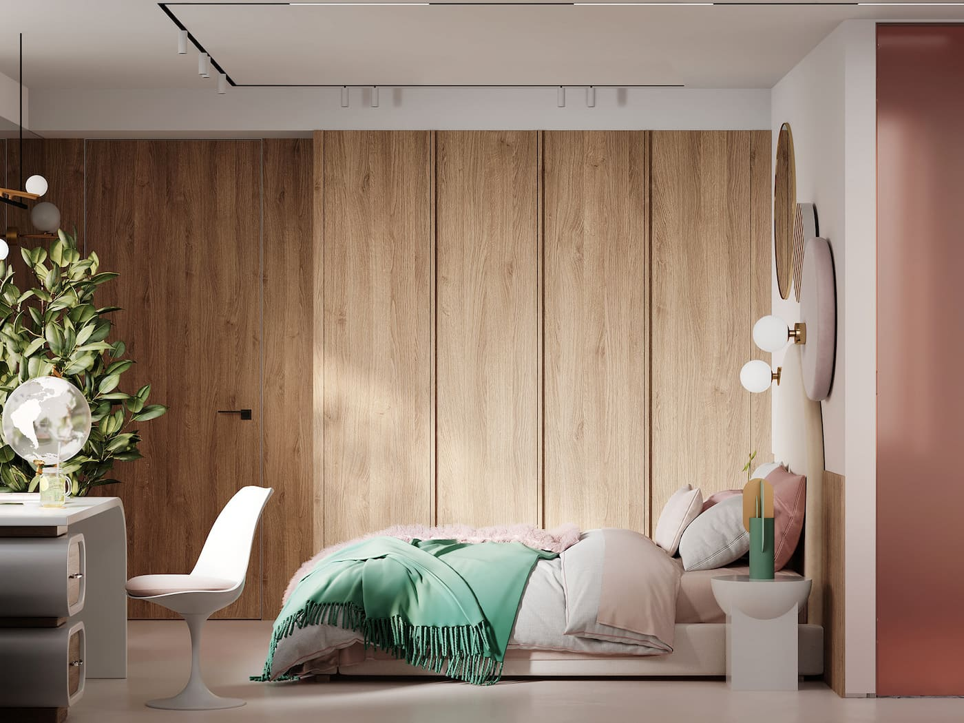 дизайн интерьера модной квартиры фото 101