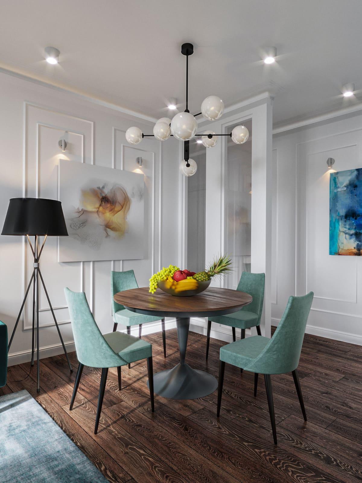 дизайн интерьера модной квартиры фото 34