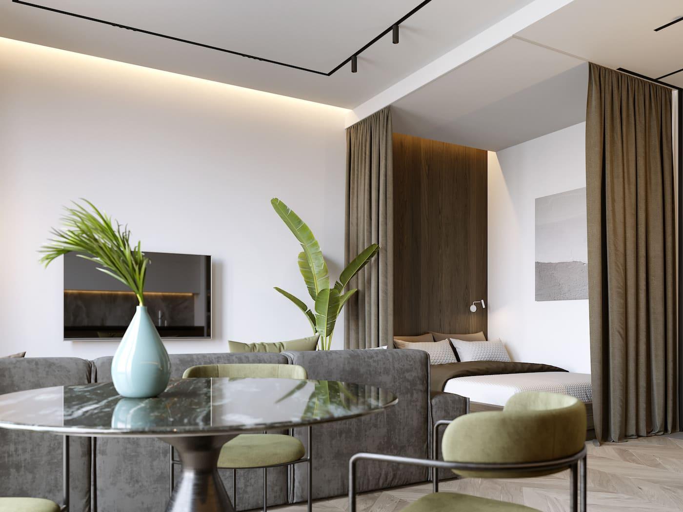 дизайн интерьера модной квартиры фото 78