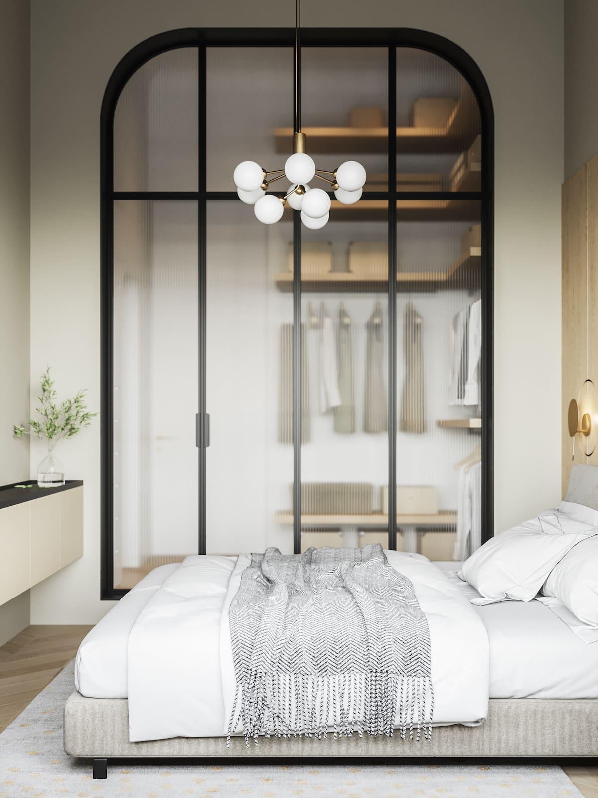 дизайн интерьера модной квартиры фото 29