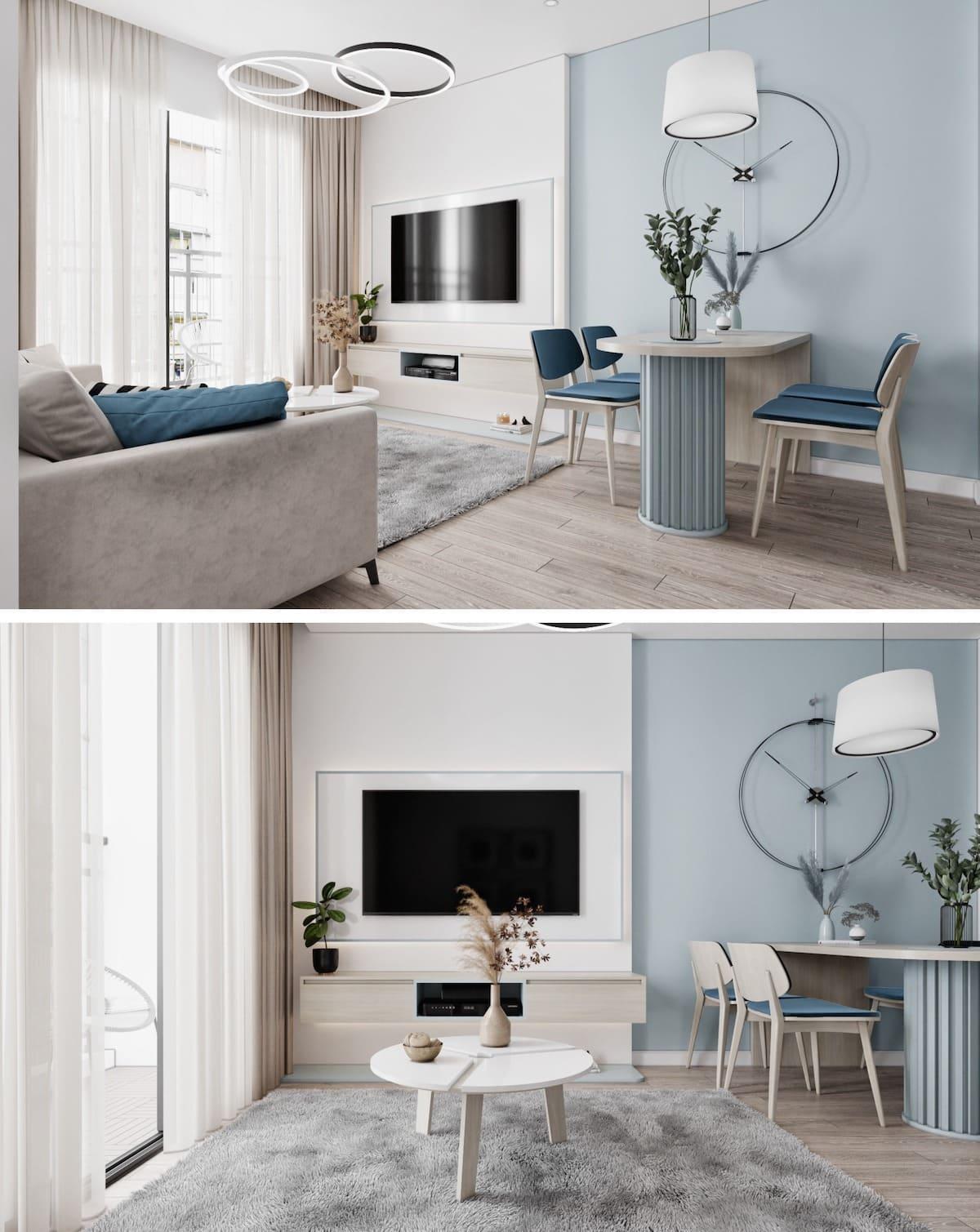 дизайн интерьера модной квартиры фото 80