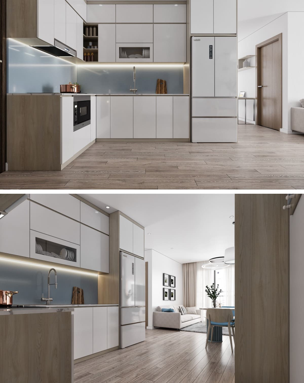 дизайн интерьера модной квартиры фото 82