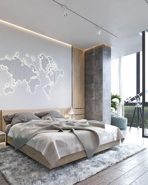 дизайн интерьера модной квартиры фото 22