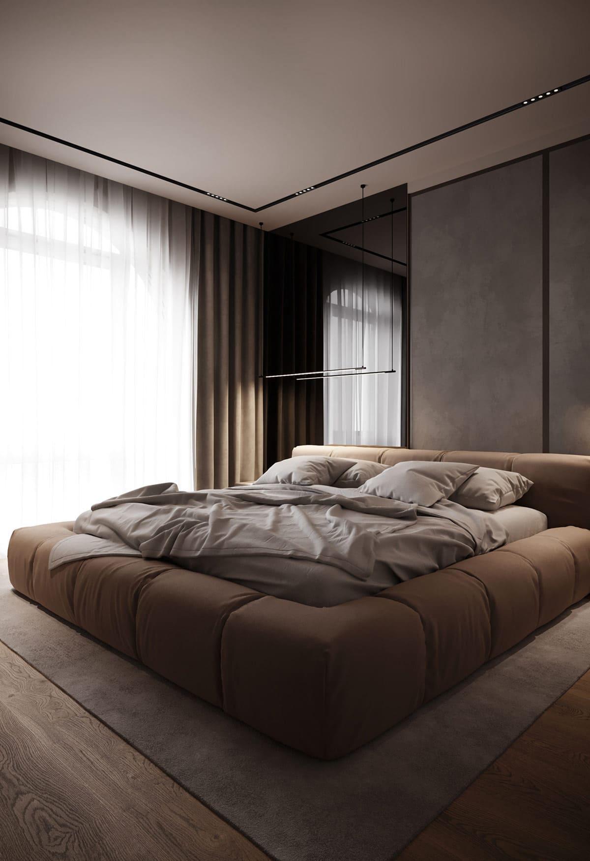 дизайн интерьера модной квартиры фото 5