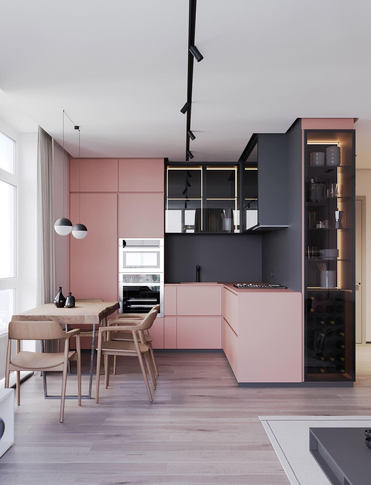 дизайн интерьера модной квартиры фото 38