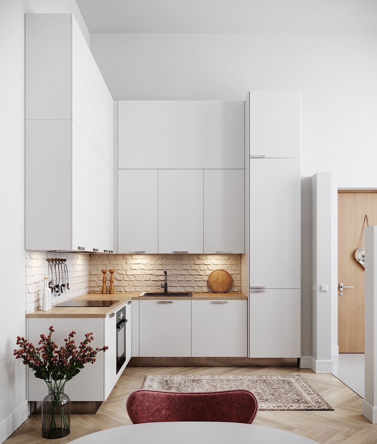 дизайн интерьера модной квартиры фото 40