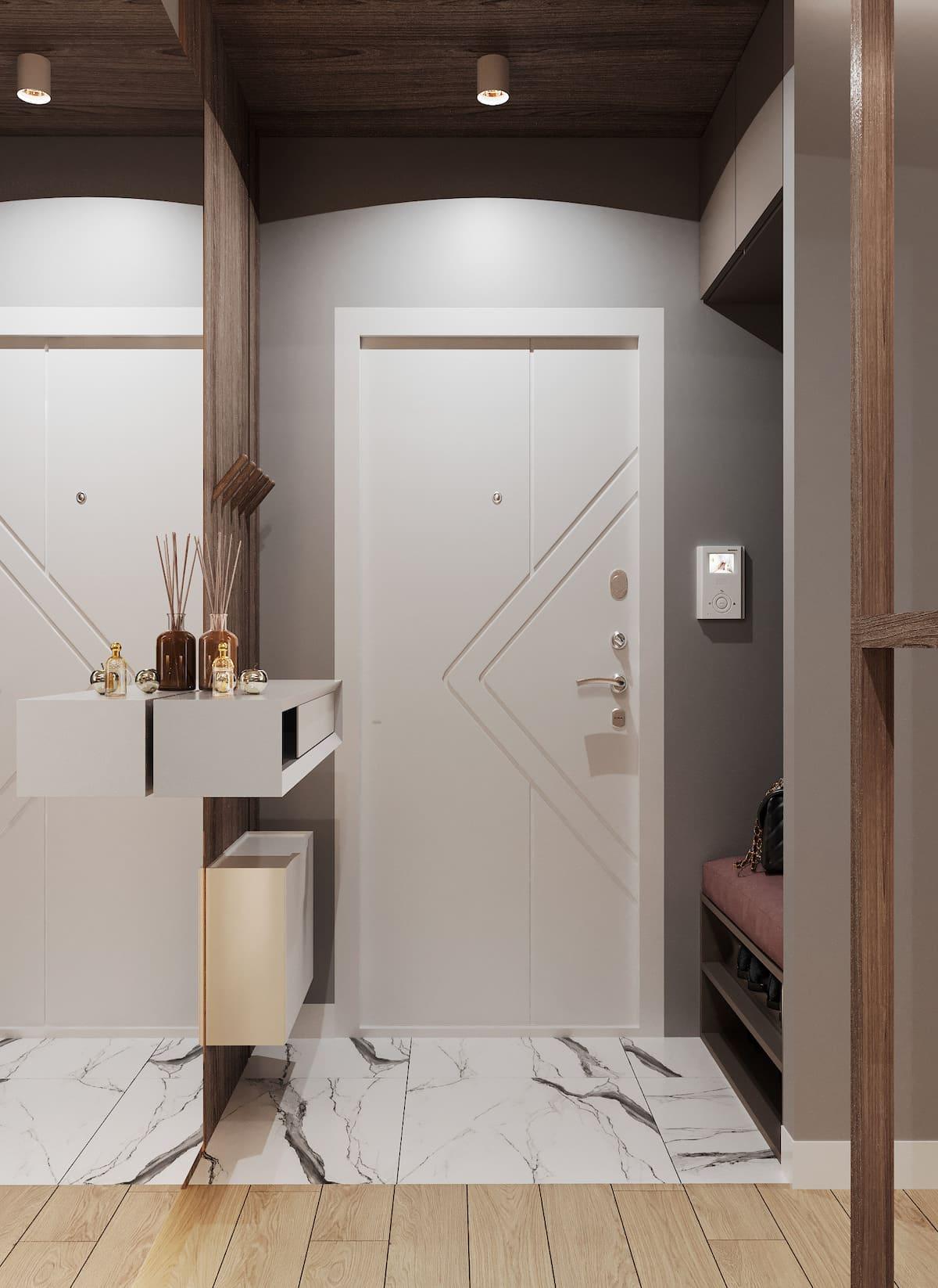 дизайн интерьера модной квартиры фото 96