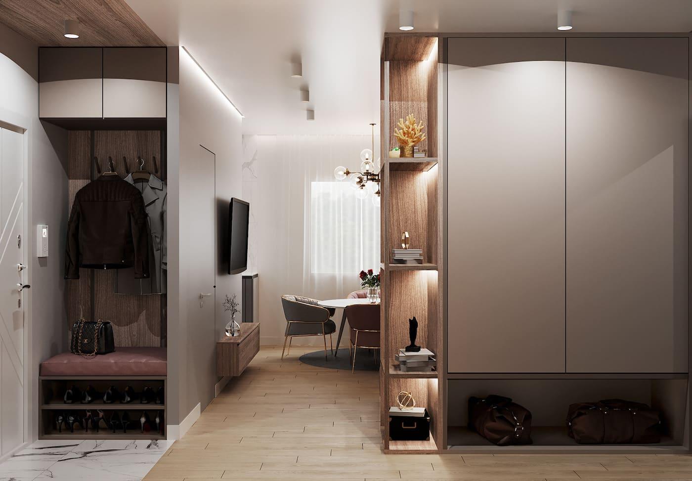 дизайн интерьера модной квартиры фото 97